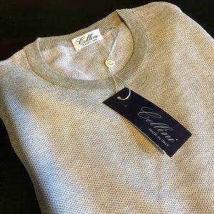 Cellini  Crew Neck Italian Knit Sweater